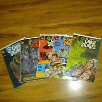 Whitman comics Grimms Ghost Stories 5 issue run #55-59 GC