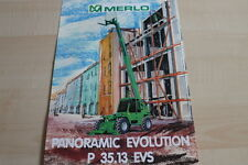 127594) merlo panoramic Evolution p 35.13 EVs folleto 04/1999