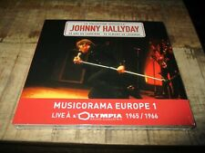 Johnny-Collector Musicorama-Live Olympia 1965/1966-édition limitée-Sous blister
