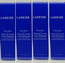 4X Laneige Water Bank Moisture Cream 8ml Hydrating Soothing Deluxe Travel Size
