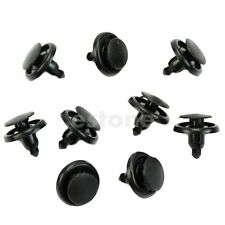 New Useful 20pcs Rivet Fastener Bumper Push Retainer Hood Clips 7mm For Toyota
