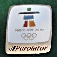 2010 OLYMPICS VANCOUVER CANADA PUROLATER Pin Mint Uncommon