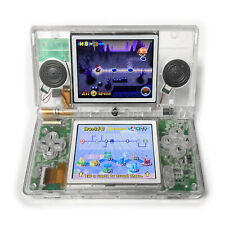 Custom Nintendo DS Lite Transparent Clear Game Console System USA SELLER Refurb.