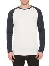 Camisetas de hombre blancas color principal azul 100% algodón