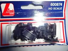 LIMA MODEL PARTS 600874 3X HO Scale Clips Train Rails Connector Vintage MOSC