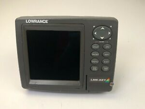 Lowrance LMS-337C DF Sonar fishfinder GPS Receiver (head & cover ,No other parts