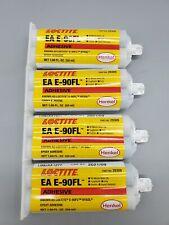 4x 169 Oz Ex0921 Henkel Loctite Hysol Ea E 90fl Epoxy Adhesive 50ml Cartridges