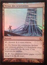 Nexus des Scintimites PREMIUM / FOIL VF - French Blinkmoth Darksteel -  Mtg Exc2