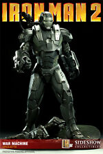 Sideshow War Machine Maquette Statue Iron Man 2 NIB Never Removed Not Hot Toys