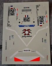 DECAL 1/43 Porsche 911 type 993 GT1 24h du Mans 1997 n° 29 JB Racing jolly motor