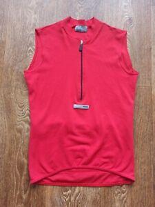 Men's Nalini Bike Cycling Vest RED Size M