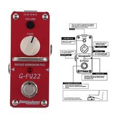 AROMA AGF-3 G-FUZZ Vintage Germanium Fuzz Guitar Effect Pedal Mini Analogue G0J5