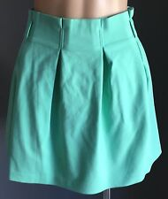 "NWT Sherbet Green MINTY MEETS MUNT ""Pouf"" Pleated Skirt Size M/10"