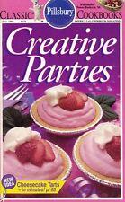 Pillsbury CREATIVE PARTIES Small Cookbook #124 Cheesecake Tarts in Minutes 1991