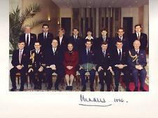 V.Rare Hand Signed Prince Charles 1996 Royal Tour Photograph