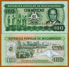Mozambique, 100 meticais, 1983, P-130, UNC