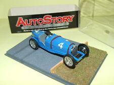 BUGATTI TYPE 59 L. MAYER COPPA VANDERBILT 1936 AUTOSTORY BRUMM diorama résine