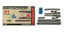 NEW KATO UNITRACK 20-860 V1 MAINLINE PASSING SIDING SET