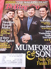 ROLLING STONE MARCH 2013 MUMFORD & SONS SWEDISH HOUSE MAFIA ELTON JOHN TOM PETTY