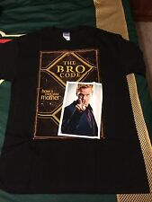 How I Met Your Mother The Bro Code By Barney Stinson Black T-Shirt Large