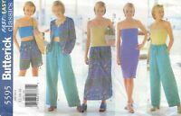 Butterick 5595 Misses' Jacket, Dress, Top, Skirt, Shorts, Pants   Sewing Pattern