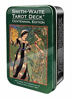 NEW Smith-Waite Centennial Tarot Deck in a Tin by Arthur Edward Waite