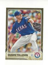 2015 Topps Update Gold #US230 Shawn Tolleson Rangers /2015