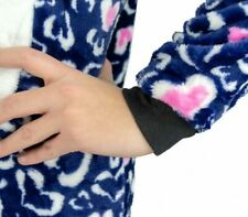 B1717 Pijama entero para niños de felpa modelo BÚHO UNISEX 4 a 14 años