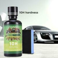10H Liquid Nano Ceramic Car Glass Coating Super Hydrophobic Scratch Polish H9C0