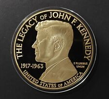 United State 2014, 70mm Kennedy And The Civil Rights Comm. Proof coin 24k Gold