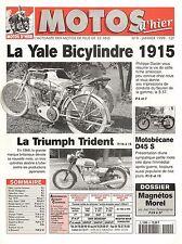 MOTOS D'HIER 9 - Yale, Motobécane D45S, triumph trident, Morel