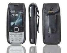 caseroxx Leather-Case with belt clip for Nokia 2700 und 2730 Classic in black ma