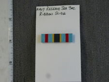 Institute of Heraldry Sample, Navy Reserve Sea Service (1986 - ) mtd. Ribbon Bar