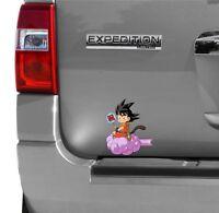 Dragon Ball Z Son Goku 龟 Driving Suzuki Racing 3M Reflective Vinyl Sticker Decal