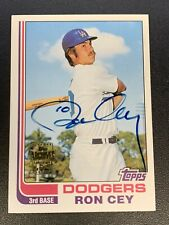 Ron Cey 2003 Topps Archives Certified Autograph Los Angeles Dodgers Auto