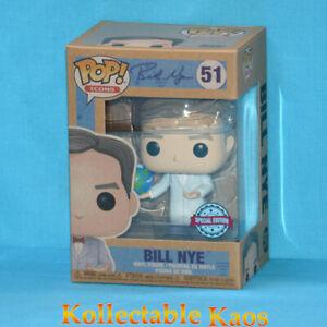 Icons - Bill Nye with Globe Pop! Vinyl Figure (RS) #51