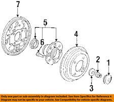 HONDA OEM 91-96 Accord-Brake Backing Splash Dust Shield Plate Left 43120SM5A02