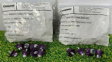 Replacement Adidas Football Studs 8x13mm 4x16mm Set 12 Boots SG - SC Lilac Met