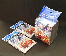 Pokemon Card Primal Groudon Primal Kyogre Sleeve 2 Packs (64) +  Deck Case Set