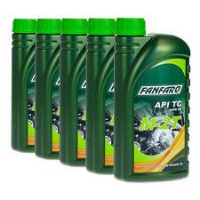 5 (5x1) Liter Fanfaro M-2T Universal 2-Takt Öl ISO-L-EGB / JASO FB / API TC