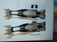 Vintage Star Wars ROTJ  Speeder Bike LOT of 2 1983 Taiwan Original