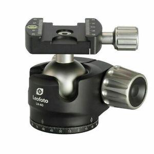 LEOFOTO LH-40 40mm Low Profile Ball Head Arca / RRS Compatible