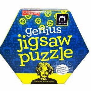 Einstein Genius Jigsaw Puzzle Brain Teaser Mind Bending Logic Maths ChallengeNEW