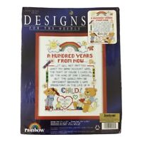 NEW 100 Years 305307 Cross Stitch Kit Child Teddy Bears Designs for the Needle