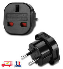 Adaptateur Secteur Voyage Prise Anglaise USA UK Vers Universel Europe France