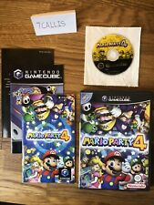 Mario Party 4 - PAL - Nintendo Gamecube (wii Compatible) - Boxed With Manual VGC