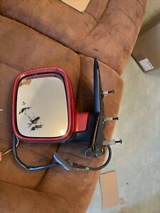 VW Transporter T5 Wing Mirror Left Electric Fully  Red Swing In 2009 Power 2009
