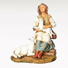 7.5 Inch Scale Fontanini Seated Nahome with Lambs 52879