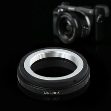 Leica L39 M39 Mount Lens to Sony E mount NEX 3 C3 5 5n 6 7 Adapter Ring L39-NEX