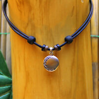 Lederkette Halskette Surferkette Herrenkette Damenhalskette Damenkette Celtic